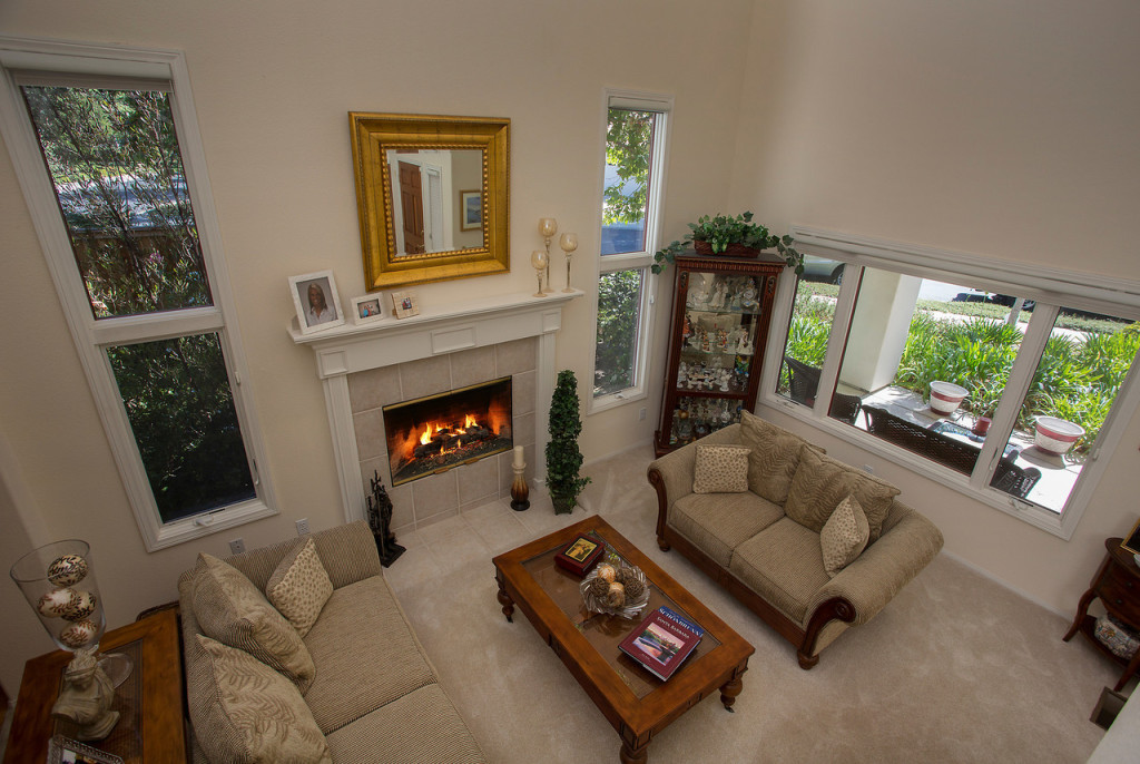 Cathedral Pointe Living Room